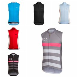 SleeveleSS cycle jerSeyS online shopping - 2019 RAPHA team Cycling jersey Sleeveless tops Men Summer Style Breathable MTB Bike Vest Cycling Clothing H70110