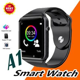 $enCountryForm.capitalKeyWord Australia - Bluetooth Smart Watch A1 Wrist Watch Men Sport watch style Wristband for IOS Apple Android Samsung smartphone DHL free