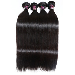 $enCountryForm.capitalKeyWord UK - Mink Brazillian Body Wave Straight Unprocessed Brazilian Peruvian Indian Human Hair Brazilian Body Wave Straight Hair Weave Bundles J47