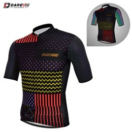 bike clothing cooling NZ - Darevie Pro Cycling Jersey Cool Reflective Cycling Jersey Breathable Team Bike MTB Road Clothing Top Men
