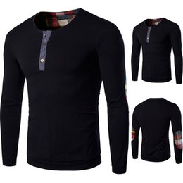 cashmere sweatshirts Canada - Fashion-Male Clothing Spring Tops Men Casual Pullovers O-neck Simple Long Sleeved Tees Cashmere Blend Sweatshirts Size M-5XL