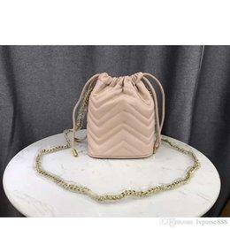 Großhandel Designer-Taschen Geldbörsen Große Qualität Frauen Designer-Handtaschen Schulter Minihandtasche echtes Leder Art und Weise Wannenbeutel