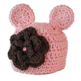 6922402c210f5 Summer Bear Hats Australia - Lovely Pink Bear Hat