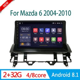 mazda car dvd gps navigation UK - multimedia system for mazda 6 2005-2013 DVD player car radio GPS navigation DSP RDS WIFI am 1 din android stereo mirror link