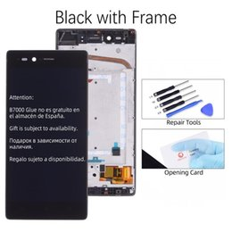lenovo touch screen replacement Australia - Original LCD For Lenovo Vibe Shot Max Z90 Display Touch Screen for Lenovo Z90 Display Z90A40 Z90-7 LCD Z90 Display Replacement