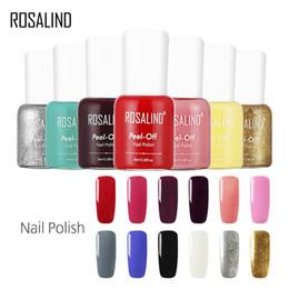 Red nail aRt diy online shopping - ROSALIND Gel Nail Polish ml Colors Colorful Gel Varnishes For Nail Art DIY Designed Soak Off Peel off Manicure Primer