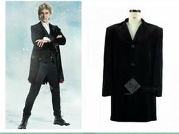 $enCountryForm.capitalKeyWord Australia - 12th Doctor Who Jacket Christmas Special twelfth Doctor Black Velvet Coat