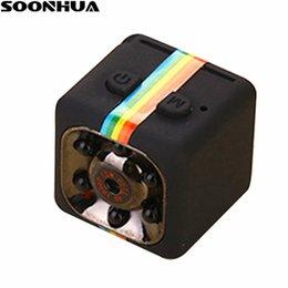 sports digital cameras 2019 - SOONHUA SQ11 Mini Camera Camera HD 1080P Night Vision Action Camcorder DV Video Sport Digital Detection Cameras Support