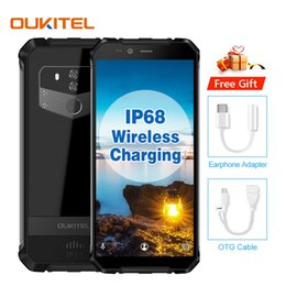 military cameras 2019 - Waterproof OUKITEL WP1 4GB 64GB 4G LTE Octa Core MTK6763 Fingerprint 13MP Camera 5000mAh Wireless Charging Military Grad