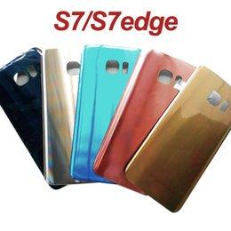 $enCountryForm.capitalKeyWord Australia - Battery Back Cover for Samsung Galaxy S7 G930F S7Edge G935 Battery Housing Adhesiver Sticker