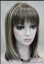 $enCountryForm.capitalKeyWord Australia - WIG LL HOT sell Free Shipping >>> Fashion Dark Brown Medium short Women Ladies Daily Hair wig