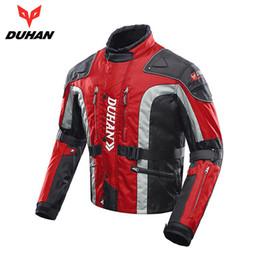 $enCountryForm.capitalKeyWord Australia - DUHAN Motorcycle Jacket Men Motocross Jacket Windproof Autumn Winter Cotton Lined Motorbike Moto Protective Gear