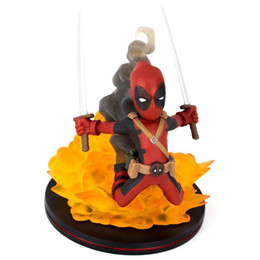 Flaming Toys UK - NEW 10cm Deadpool 2 flame explosion Action figure toys doll Christmas gift with box