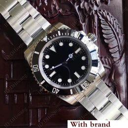 $enCountryForm.capitalKeyWord Australia - New Factory V7 ETA 2836 luxury Men's watch Sapphire Black Ceramic diving luminous o Wrist watch 114060 model DHL Free Shipping