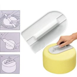 $enCountryForm.capitalKeyWord Australia - Plastic Cake Cream Polisher 14.5*8.2*2.1CM Cream Smoothing Polisher Fondant Sugar Craft Cakes Spatulas DIY Baking Tools 20 Pieces DHL
