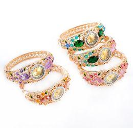 $enCountryForm.capitalKeyWord Australia - Designer bracelet fashion trend retro crystal diamond opal rhinestone hot sale luxury female accessories accessories manufacturers wholesale