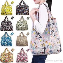 90cfa72039b Folding Fabric Grocery Bag Australia - Large Foldable Shopping Bags Reusable  Storage Bag Eco Friendly Waterproof