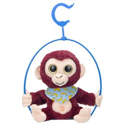 say toys Australia - Soft And Comfortable Cute Mimicry Pet Talking Monkey Repeats What You Say Electronic Plush Toy Decorative Toy Kids Birthday Gift
