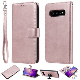Note Flip Wallet Australia - Magnet Car Mount Detachable 2 in 1 Flip Wallet Case For iPhone XS Max XR X 8 7 6 5 Samsung S6 S7 S8 S9 Plus S10 S10E Note 9 J4 J6 J8 2018