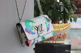 Groihandel 20MM Frauenhandtasche Berühmte Marken Luxusbeutel für Frau 2021 Designer Handtasche Damen Handtaschen aus Leder Umhängetasche Tasche Druck Bonsin