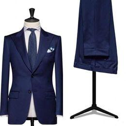 Bridal Suits Australia - Custom men suit slim fit wedding Groom Tuxedo Suit Men's Wedding Groomsmen Men's Suits Bridal Ball Gown (Jacket + Pants)