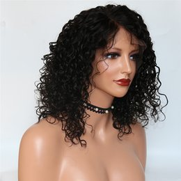 $enCountryForm.capitalKeyWord UK - 2019 New Style Natural Hairline Good Brazilian Hair Deep Curly Peruvian full lace human hair wigs Can Make Ponytail Free Part