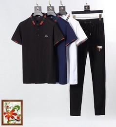 $enCountryForm.capitalKeyWord Australia - 2019 Summer New Short-sleeved Hip Hop Men's Fashion Trend Large Size jogging designer luxury suits 0604