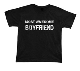 boyfriends shirt Australia - Most Awesome Boyfriend No1 best T shirt Gift Idea birhday present Tee Christmas 2018 Men'S Lastest Printed funny T-Shirt
