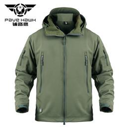 $enCountryForm.capitalKeyWord Australia - Jacket Tactical Army Camouflage Windbreaker Coat Soft Shell Jackets Men Fleece Waterproof Windproof Winter Clothes 5XL