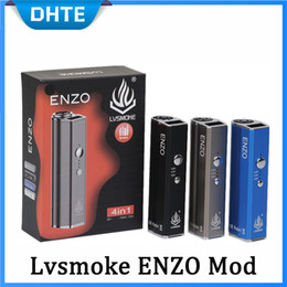 $enCountryForm.capitalKeyWord Australia - 100% Authentic LVSMOKE ENZO Box Mod 450mAh Variable Voltage Vape Battery For Thick Oil Wax Dry Herb Cartridges Tank
