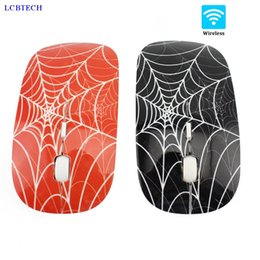 Ultra Thin Usb Optical Mouse Australia - 2019 New 2.4GHZ Optical Wireless Mouse 1000DPI Ultra-thin Spider Web USB Optical Computer Mice For Office PC Laptop Gamer