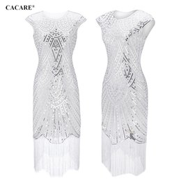 $enCountryForm.capitalKeyWord Australia - Sequined Party Dress Shiny Runway 2019 High Quality Sexy Lace Dress Sale Fringe Glitter Dress Multiway 5 Choices F0343
