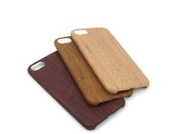 Wood Iphone Case Dhl Australia - New Arrvial For iphone X  8 8 Plus  7 7plus 6 6s 6splus 5 SE imitate the wood texture PU Case Soft Cover Shockproof PU Phone protector DHL