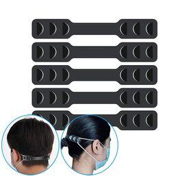 Wholesale Face Mask Band Extenders Mask Elastic Strap Adjuster Protect Your Ear Break Away Pain Mask Belt Hook Adjustable Ear Strap Extension dhl free