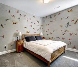 $enCountryForm.capitalKeyWord Australia - Modern Vintage Hand Painted House Full Wall Background Digital Printing HD Decorative Beautiful Wallpaper