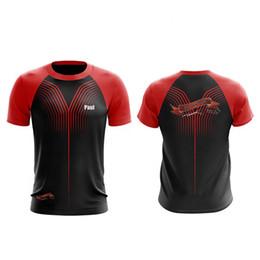 $enCountryForm.capitalKeyWord Australia - High Quality Running Sport Fitness Gym Quick Dry Breathable Badminton Shirt,Custom Women Men Table Tennis Team Game T Shirts