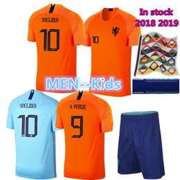 Nederland soccer jersey home orange HOLLAND ROBBEN SNEIJDER V.Persie  netherlands JERSEY 18 19 thai quality Dutch football shirts 23473f6e8