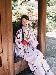 japanese geishas 2019 - Classic Women Kimono Japanese National Style Kimonos Yukata New Feeling Clothes Obi Traditional Geisha Cosplay Costume H