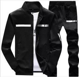 designer zipper hoodies NZ - New Brand Designer Tracksuit Men Luxury Winter Sportswear Hoodies Coat Loose Mens Tracksuits Zipper Sets Plus Size Coat Pant