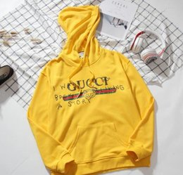 Fighting Australia - RT89 GUCCI YSLbrand hoodies long sleeves fight color kanye west Men's Hoodies men and women loose couple sweater