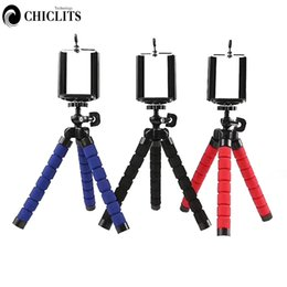 Discount tripod stand for mobile - Tripods Tripod for Phone Mobile Camera Holder Clip Smartphone Monopod Tripe Stand Mini Tripod Stativ for Phone