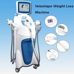 China 5 IN 1 velashape Cellulite Reduction Slimming Machine vacuum cavitation rf ultrasound cavitation slimming free shipping cheap ultrasound cellulite machines suppliers