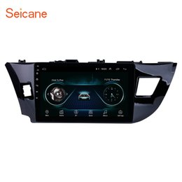 Gps Navigation Dvr Camera Australia - 10.1 Inch Android 8.1 Car Radio GPS Navigation for 2013 2014 2015 Toyota LEVIN with WiFi USB AUX Support TPMS DVR 3G Rear camera