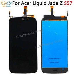 touch screen acer liquid UK - For Acer Liquid Jade Z S57 LCD Display +Touch Screen Assembly For Acer S57 lcd Digitizer +free tools