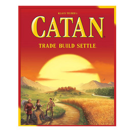 Fun Card Australia - Catan Board Game Family Fun Playing Parent-child Interaction Strategy Game Card English Table Party Supplies