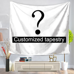 customize table cloth Australia - Customized Mandala Tapestry Wall Hanging Thicken Tapestries Christmas Wedding Decoration Blanket Table Cloth 197*147cm 147*127cm SH190925