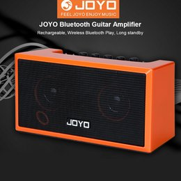 Mini guitar aMps online shopping - JOYO TOP GT Guitar Amplifier Mini Bluetooth Amp Speaker Acoustic Electric Bass Stereo Sound Rechargeable Guitar Accessories