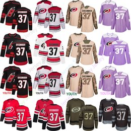 5d029f1266b Custom Carolina Hurricanes 37 Andrei Svechnikov Jersey All Stitched Men  Women Youth Kid size S-3XL Winter Classic Cheap