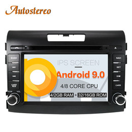 Honda Crv Gps Dvd Australia - Android 9 Car DVD Player for Honda CRV 2012-2016 GPS navigation stereo head Unit 2 DIN Radio tape recorder multimedia IPS