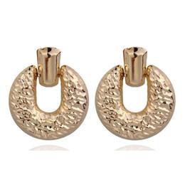 $enCountryForm.capitalKeyWord UK - Vintage Big Geometric Square Dangle Statement Earrings For Women Earings Fashion Jewelry Modern Women's Earrings CE468